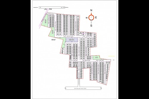220 Sq Ft Residential Plot for Sale In Sark Green Residences, Mokila, Hyderabad For Rs 15.40 Lakh | Property Image 4 Large