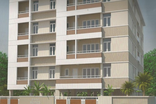 3 Bedroom 1400 Sq Ft Apartment for Sale In Balaji Homes, Ramamurthy Nagar, Bangalore For Rs 73 Lakh | Property Image 1 Large