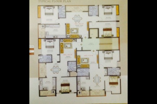 3 Bedroom 1400 Sq Ft Apartment for Sale In Balaji Homes, Ramamurthy Nagar, Bangalore For Rs 73 Lakh | Property Image 2 Large