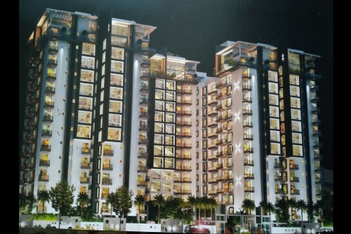 3 Bedroom 1313 Sq Ft Apartment for Sale In Aloha, Jalahalli, Bangalore For Rs 70 Lakh | Property Image 1 Large