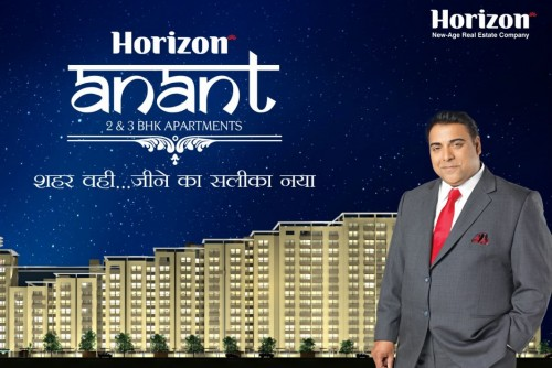 2 Bedroom 1015 Sq Ft Apartment for Sale In Horizon Anant, Sector 11 Vrindavan Lucknow, Lucknow For Rs 30.96 Lakh | Property Image 1 Large