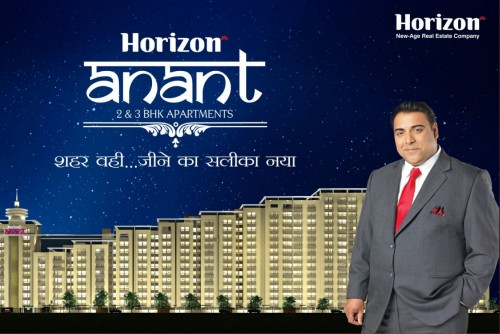3 Bedroom 1454 Sq Ft Apartment for Sale In Horizon Anant, Sector 11 Vrindavan Lucknow, Lucknow For Rs 44.35 Lakh | Property Image 1 Large