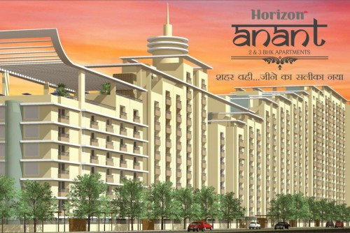 4 Bedroom 1875 Sq Ft Apartment for Sale In Horizon Anant, Sector 11 Vrindavan Lucknow, Lucknow For Rs 57.19 Lakh | Property Image 1 Large