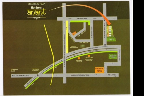 4 Bedroom 1875 Sq Ft Apartment for Sale In Horizon Anant, Sector 11 Vrindavan Lucknow, Lucknow For Rs 57.19 Lakh | Property Image 6 Large