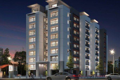 3 Bedroom 2000 Sq Ft Apartment for Sale In Kalyan Nexus, Kuriachira Thrissur, Kochi For Rs 70 Lakh | Property Image 1 Large