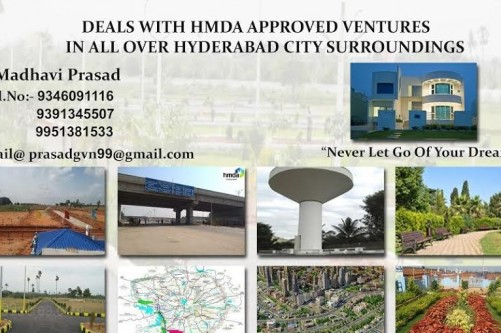 200 Sq Yrd Residential Plot for Sale In Madhaviprasad Realtors, Bibinagar, Hyderabad For Rs 27.40 Lakh | Property Image 5 Large