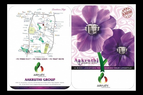 1200 Sq Ft Residential Plot for Sale In Aakruthi North City, Thanisandra, Bangalore For Rs 40.80 Lakh | Property Image 6 Large