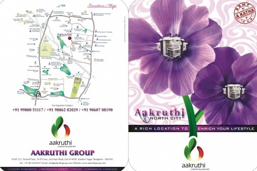 1200 Sq Ft Residential Plot for Sale In Aakruthi North City, Hegdenagara, Bangalore For Rs 40.80 Lakh | Property Image 5 Large