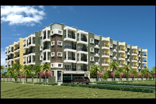 3 Bedroom 1550 Sq Ft Apartment for Sale In Aakruthi Sowmya Sarovara, Nagavara, Bangalore For Rs 75.44 Lakh | Property Image 1 Large