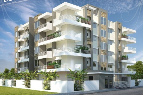 2 Bedroom 1050 Sq Ft Apartment for Sale In Land Mark Nest Primo, Hebbal, Bangalore For Rs 52.08 Lakh | Property Image 1 Large