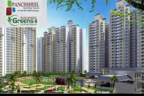 2 Bedroom 1105 Sq Ft Apartment for Sale In Panchsheel Greens 2, Noida Extension, Noida For Rs 32.50 Lakh | Property Image 1 Large