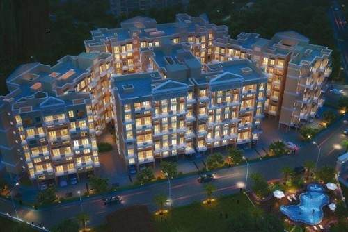 1 Bedroom 408 Sq Ft Apartment for Sale In Sai Krupa Valley, Neral, Mumbai For Rs 17.70 Lakh | Property Image 1 Large