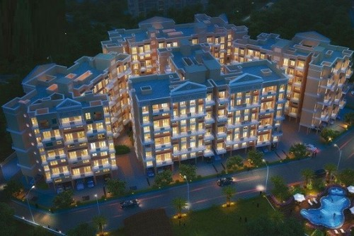 2 Bedroom 557 Sq Ft Apartment for Sale In Sai Krupa Valley, Neral, Mumbai For Rs 24.16 Lakh | Property Image 1 Large