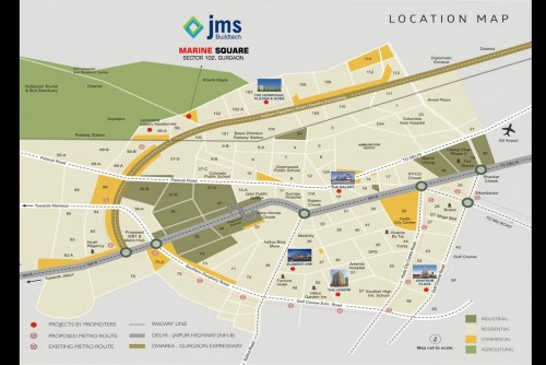 200 Sq Ft Shop for Sale In Jms Marine Square, Sector 102 Gurgaon, Gurgaon For Rs 20 Lakh | Property Image 6 Large