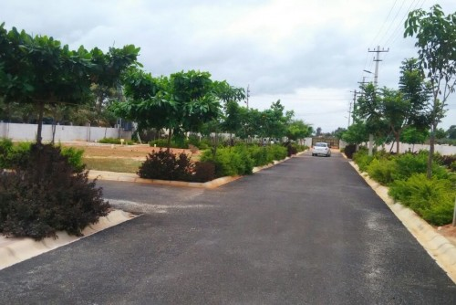 1350 Sq Ft Residential Plot for Sale In Praja Karna Divine, Devanahalli, Bangalore For Rs 25.65 Lakh | Property Image 3 Large