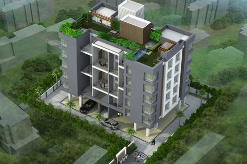 2 Bedroom 1092 Sq Ft Apartment for Sale In Nirvana Zen, Viman Nagar, Pune For Rs 1.05 Crore | Property Image 2 Large