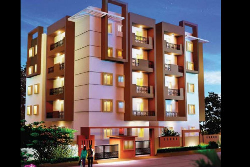 3 Bedroom 1477 Sq Ft Apartment for Sale In Blossom, Hennur Main Road, Bangalore For Rs 73.84 Lakh | Property Image 1 Large