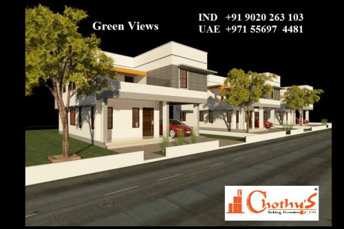 3 Bedroom 4 Sq Ft House for Sale In Green Views, Vattiyoorkave, Thiruvananthapuram For Rs 37 Lakh | Property Image 1 Large