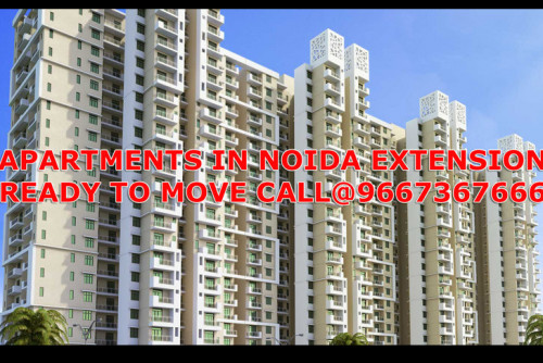 2 Bedroom 1050 Sq Ft Apartment for Sale In Apartment In Noida Extension, Greater Noida West, Greater Noida For Rs 32 Lakh | Property Image 1 Large